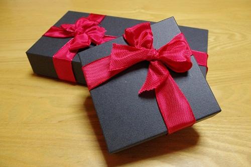 財布をプレゼント