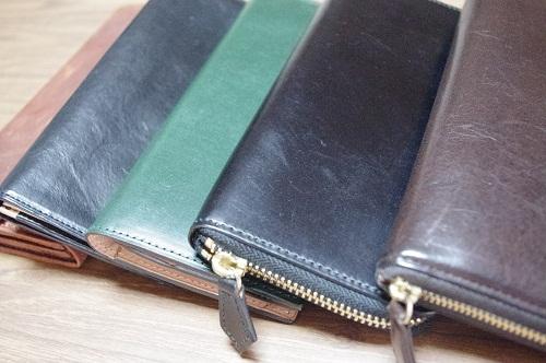 ココマイスターの財布達