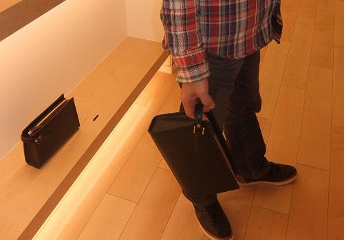 ブライドルセカンドバッグ