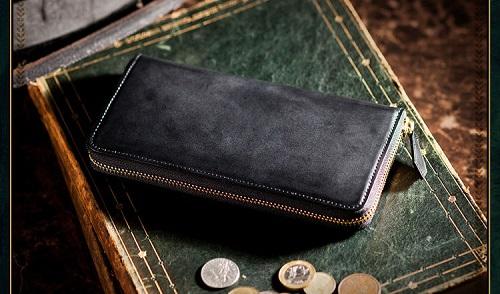 コードバンラウンド長財布