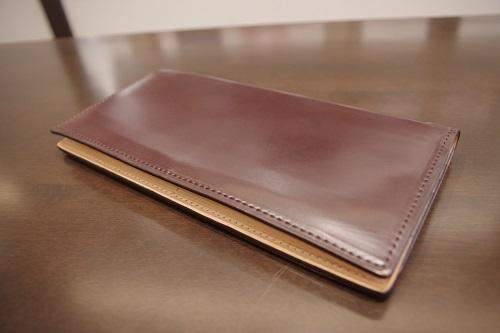 コードバン薄型長財布1