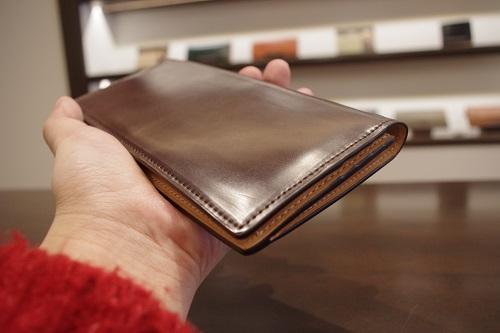 コードバン薄型長財布14