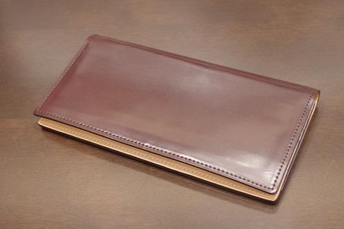 コードバン薄型長財布16
