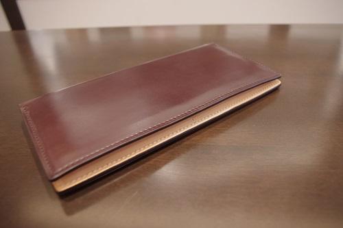 コードバン薄型長財布2