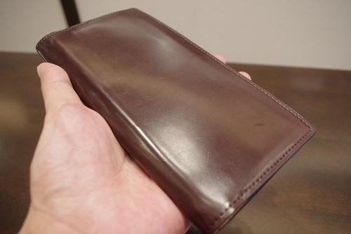 コードバン薄型長財布3