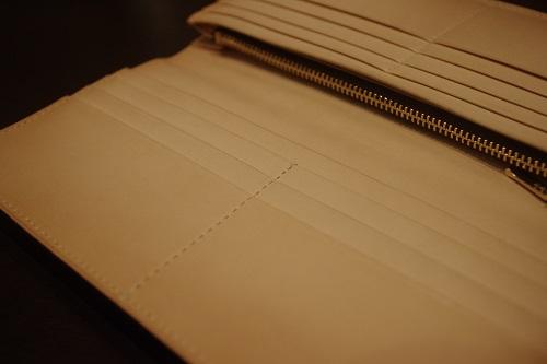 コードバン薄型長財布8